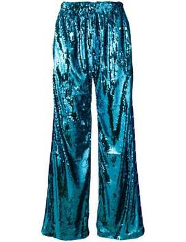 Sequinned Side Stripe Track Pants by Faith Connexion