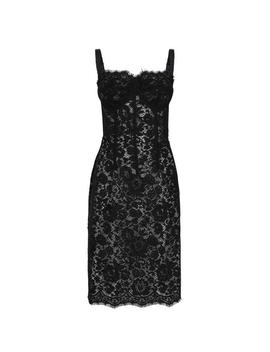 Lace Pencil Dress by Dolce And Gabbana