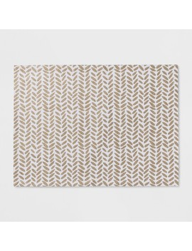 White Chevron Placemat   Project 62™ by Project 62™