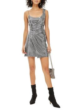 Sequin Minidress by Topshop