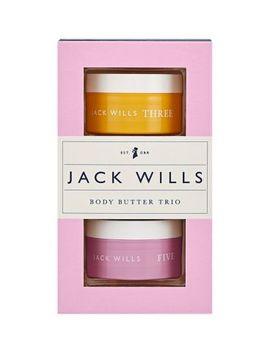 Jack Wills Body Butter Trio by Jack Wills