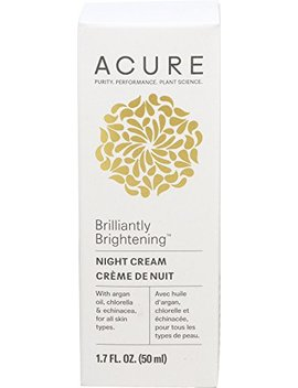 Acure Night Cream 1.7 Fl Oz by Acure