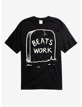 Beats Work Tombstone T Shirt by Hot Topic