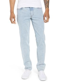 Acid Wash Stretch Slim Leg Jeans by The Rail