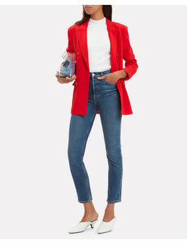 Steward Double Breasted Blazer by Tibi