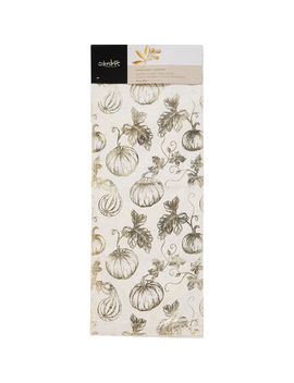 Gold Pumpkin Table Runner 35x228cm by Colordrift