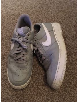 Mens Grey Leather Nike Air Size 11 Lace Up. Nike Air by Ebay Seller