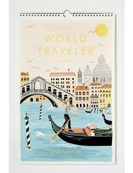 World Traveller Calendar by Anthropologie