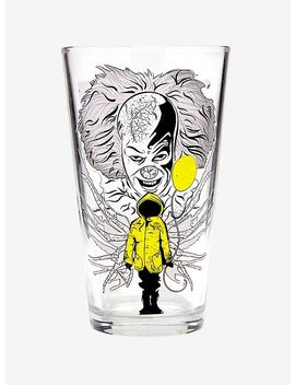 It Pennywise & Georgie Cold Reveal Pint Glass by Hot Topic