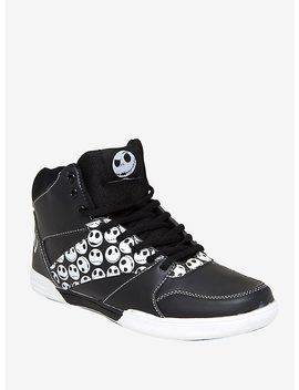 The Nightmare Before Christmas Jack Skellington Athletic Sneakers by Hot Topic