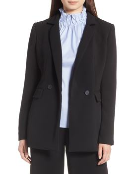 Halogen(R) Double Breasted Blazer (Regular & Petite) by Halogen