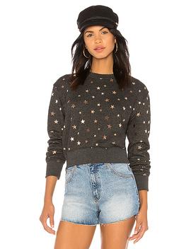 Stars Crop Sweatshirt by Spiritual Gangster