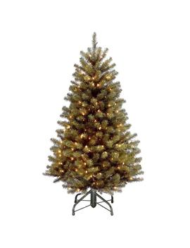 4.5 Ft. North Valley Spruce Artificial Christmas Tree With 200 Clear Lights by Home Depot