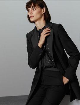Long Sleeve Blazer by Marks & Spencer