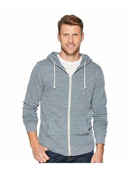 Triblend Zip Front Hoodie by Threads 4 Thought