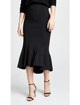 Flare Ponte Skirt by Tome