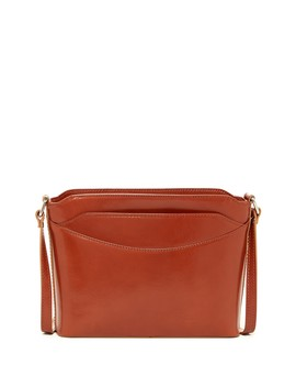Ashley Leather Shoulder Bag by Persaman New York