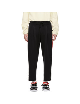Black Line Track Pants by Ader Error