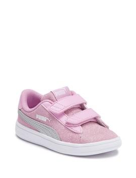 Smash V2 Glitz Glam Sneaker (Toddler) by Puma