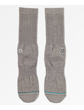 Stance X Star Wars Solid Trooper Heather Black Crew Socks by Stance