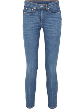 Jean Skinny Raccourci Taille Haute James by Brock Collection
