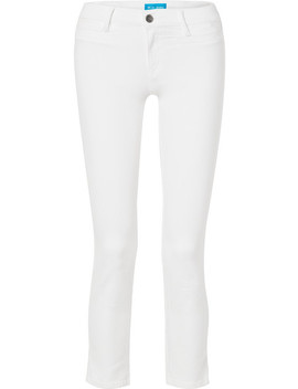 Paris Cropped Mid Rise Straight Leg Jeans by M.I.H Jeans