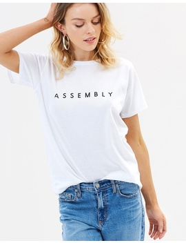 Extend Tee by Assembly Label