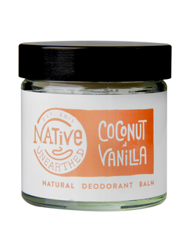 Native Unearthed Natural Deodorant Balm Coconut & Vanilla 60g by Native Unearthed Natural Deodorant Balm Coconut & Vanilla 60g