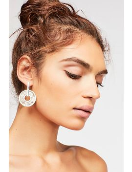 Looped In Resin Earring by Free People