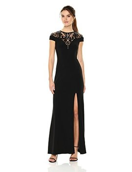 Adrianna Papell Women's Sequin Jersey Special Occasion Dress by Adrianna Papell
