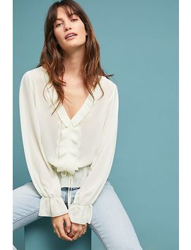 Melody Ruffled Blouse by Central Park West
