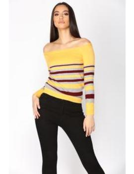 Everyday Vibes Sweater   Mustard by Fashion Nova