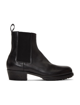 Black Chelsea Boots by Haider Ackermann