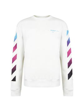 Gradient Diagonal Sweatshirt by Off White