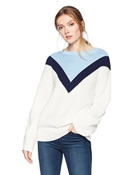 Cable Stitch Women's Geometric Colorblock Sweater by Cable+Stitch