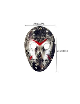 Bar Party Ball Street Dance Jason Mask Halloween Ghost Halloween Masks Adult Ghost Festival Cosplay Festival Carnival Mask by Aihome