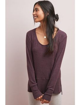 Pasiphae Brushed Fleece Pullover by Coa