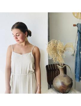 Simple Chic Linen Jumpsuit by Etsy