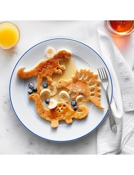 Williams Sonoma Dinosaur Silicone Pancake Molds, Set Of 3 by Williams   Sonoma