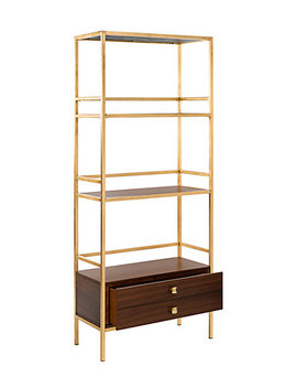 Safavieh Mateo 4 Tier 1 Drawer Etagere by Safavieh