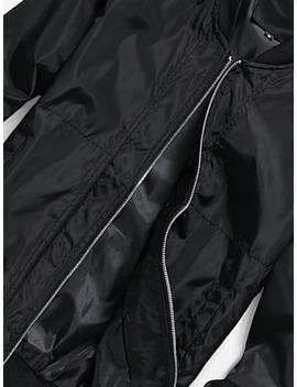 Men Plain Zip Jacket by Sheinside