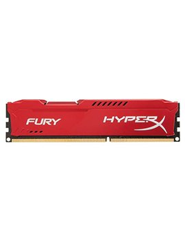 Kingston Hyper X Fury 8 Gb 1866 M Hz Ddr3 Cl10 Dimm   Red (Hx318 C10 Fr/8) by Hyper X