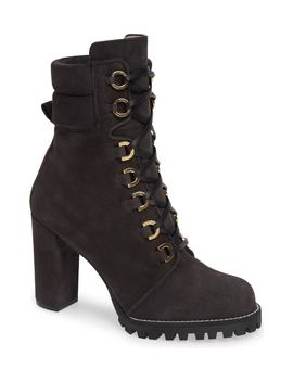 Shakelton Lace Up Boot by Stuart Weitzman