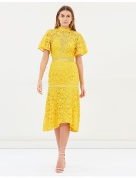 Utopia Lace Midi Dress by Keepsake The Label