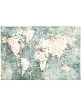 World Map Canvas Wall Decor by Hobby Lobby