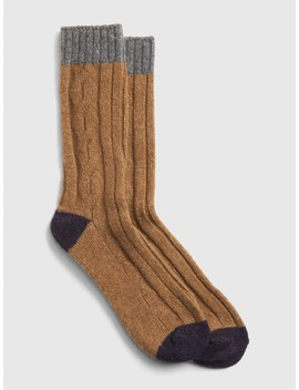 Colorblock Boot Socks by Gap