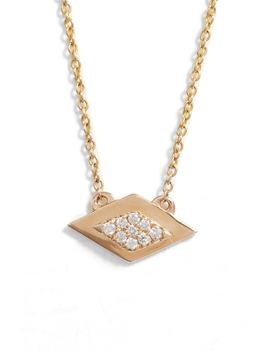 Dana Rebecca Lisa Michelle Horizontal Diamond Necklace by Dana Rebecca Designs