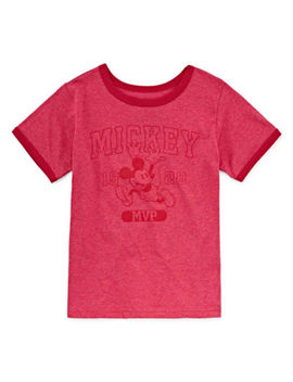 Disney Mickey Mouse Graphic T Shirt Big Kid Boys by Disney