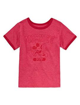 Disney Mickey Mouse Graphic T Shirt Big Kid Boys by Disney