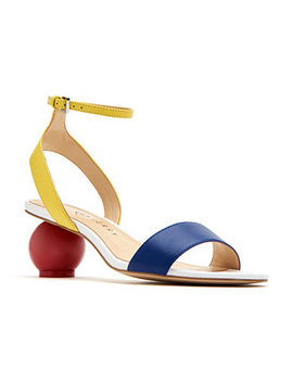 Adventure Color Block Dress Sandals by Katy Perry